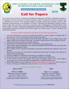 Call for Papers 2019-July